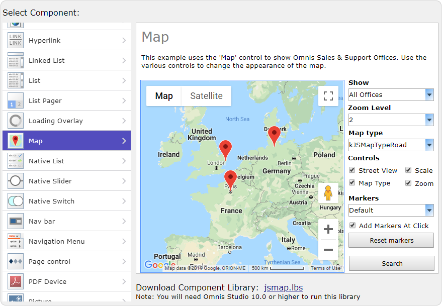 Omnis JavaScript Components let you create Web & Mobile apps